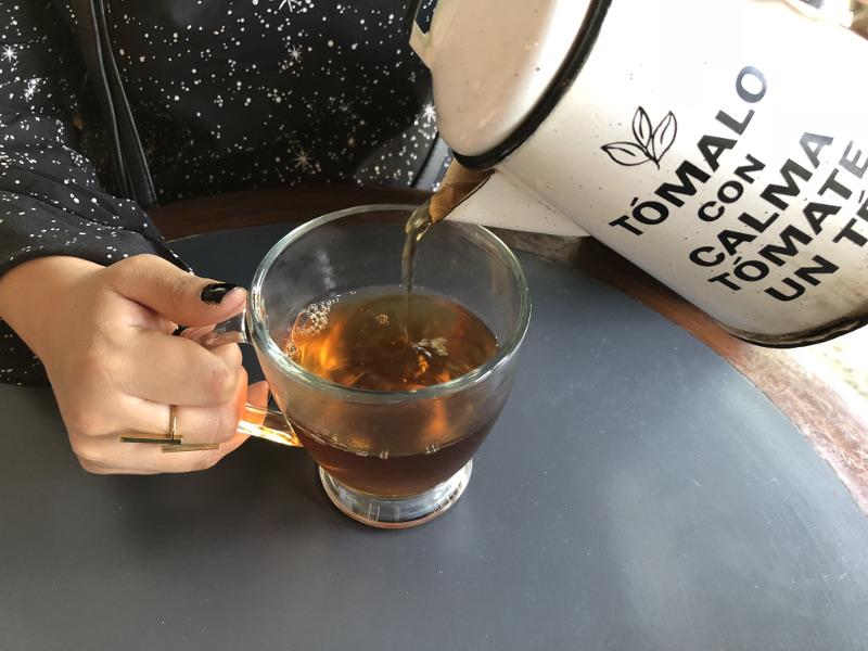 Esquina de té tetra